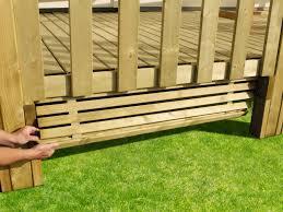 soubassement bois kit nivrem com u003d terrasse bois kit complet diverses idées de