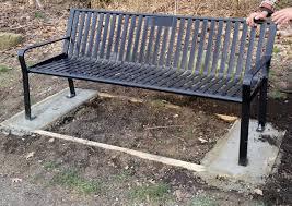 memorial bench program cambria county conservation u0026 recreation