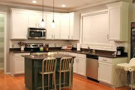 diy painting oak kitchen cabinets whitepainting white before and