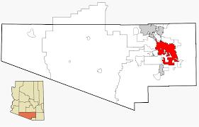 Tucson Zip Codes Map by Tucson Arizona Wikipedia