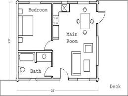 small guest house floor plans 1 bedroom guest house plans adhome