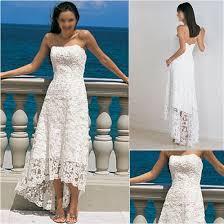china stock wedding gowns strapless white ivory lace short wedding