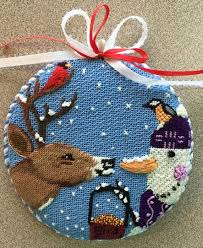 christmas needlepoint nenah designs christmas ornaments