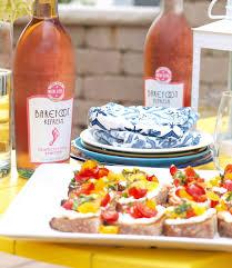 Summer Lunch Menu Ideas For Entertaining Easy Summer Entertaining Whipped Feta Bruschetta And Barefoot
