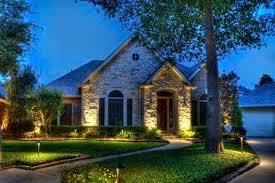 Landscape Lighting Houston Tx Outdoor Lighting In Houston Tx Sle Designs