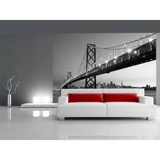 ideal decor 100 in x 144 in san francisco skyline wall mural san francisco skyline wall mural