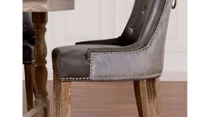 Leather Dining Chairs Design Ideas Nailhead Trim Dining Chairs With Design Ideas 29 Bmorebiostat