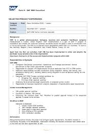 Sap Functional Consultant Resume Sample by Sap Srm Functional Consultant Resume Contegri Com