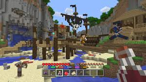 Hunger Games World Map by Minecraft Battle For Console Editions Business Insider