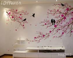 Wall Decor Bedroom Graceful Cherry Blossom Birds Wall Kait U0027s Quilt New Room