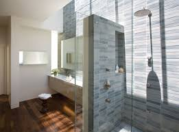 Wood Shower Door by Green Bathroom Decor Stall Shower Use Glass Shower Doors Tile