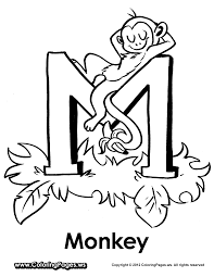 m is for monkey moonbeams mother u0027s day pinterest monkey and