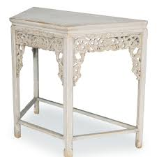 Shabby Chic Hall Table by Ornate Shabby Chic Wall Table Distressed White Finish