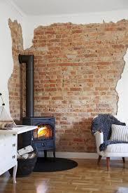 steinwand im wohnzimmer anleitung 2 die besten 25 wandgestaltung wohnzimmer ideen auf
