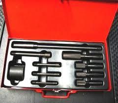 Blind hole bearing puller set