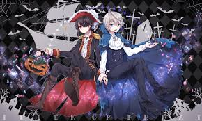 halloween anime background aldnoah zero inaho u0026 slaine obsessions pinterest anime