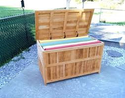 small outdoor storage bench large image for pool deck designs and