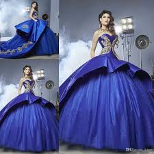wedding dresses with purple detail royal blue cathedral quinceanera dresses 2018 sparkly gold