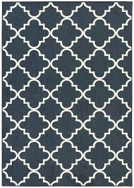 Area Rug Pattern Charlton Home Hanley Navy Area Rug Reviews Wayfair