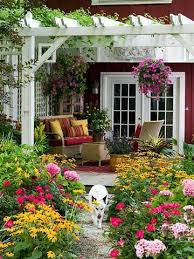 Small Backyard Flower Garden Ideas Backyard Flower Garden Backyard Garden Ideas Pinterest