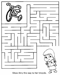 coloring page gorgeous printable mazes thanksgiving maze