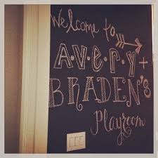 home design chalkboard paint ideas playroom shabbychic style