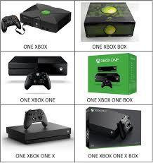 Xbox One Meme - the comically bad name for xbox one x leads to wordplay xbox
