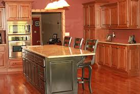 Rustic Hickory Kitchen Cabinets by Modren Rustic Cherry Kitchen Cabinets Knotty Hickory Ideas For The