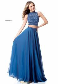 dress blue sherri hill dress 51871 peachesboutique