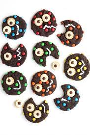monster cookies recipe kid halloween and monsters
