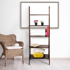 ospdesigns espresso ladder bookcase es21 the home depot