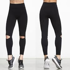 Plus Size Ripped Leggings Online Get Cheap Women Workout Leggings With Rips Aliexpress Com