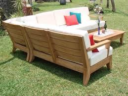 Teak Patio Chairs Atnas Grade A Teak Outdoor Sectional Sofa Set