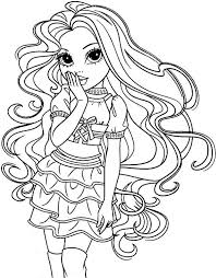 bria stage moxie girlz coloring pages bulk color