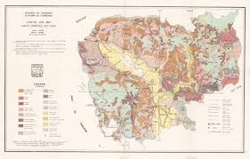 Map Of Cambodia The Soil Maps Of Asia Display Maps