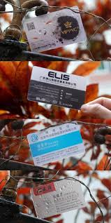 clear buisness cards fashion pvc card free design custom transparent business cards