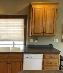 gray stained kitchen cupboards tips and ideas how to update oak or wood cabinets paint