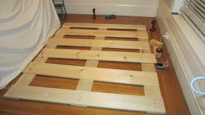How To Make A King Size Platform Bed With Pallets by Build A Bed Frame From Pallets 4 Storage Bed Most Popular Of Diy