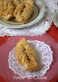 cuisine orientale facile griwech el werka recette gâteau algérien gâteau et