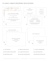 Wedding Invitations With Response Cards Classic Urban Wedding Invitations Wedding Invitations By Shine