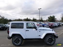 jeep polar edition 2014 bright white jeep wrangler polar edition 4x4 89817080 photo