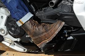high top motorcycle shoes 2016 ducati xdiavel first ride review motorcycle usa