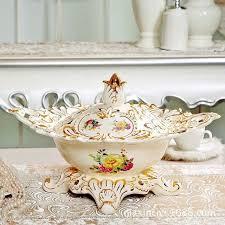 c classic luxurious gilt ornaments high grade ceramic fruit bowl