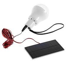 Led Bulb Lights portable 0 8w 5v 150 lumens solar power led bulb lamp outdoor