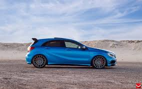 blue mercedes this mercedes a45 amg is appropriately named u0027blue magic u0027 48 pics