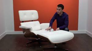 angus lounge chair by ifn modern youtube