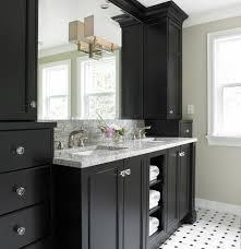 Dark Vanity Bathroom Painting Bathroom Cabinets Dark Brown Interior Design