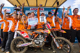 red bull motocross race dungey crowned 450 motocross champion ktm uae