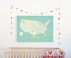 United States Travel Map by Amazon Com My Travels Personalized Usa Map 24x18 Wall Art Print