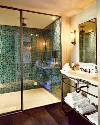 lusting after these turquoise shower tiles from soho home with